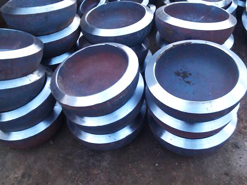 Alloy pipe cap